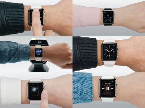 Things get hairy when Apple Watch appears in the wild