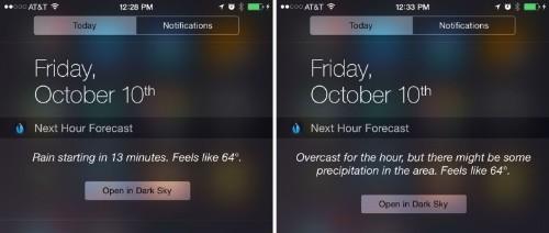 Dark Sky is the best weather app for iOS 8
