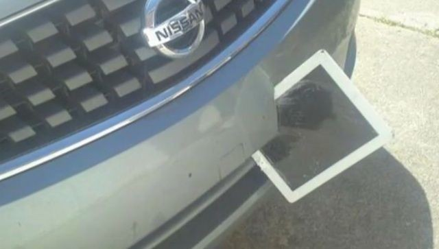Georgia Woman Found iPad Impaled In Front Bumper And It Still Works