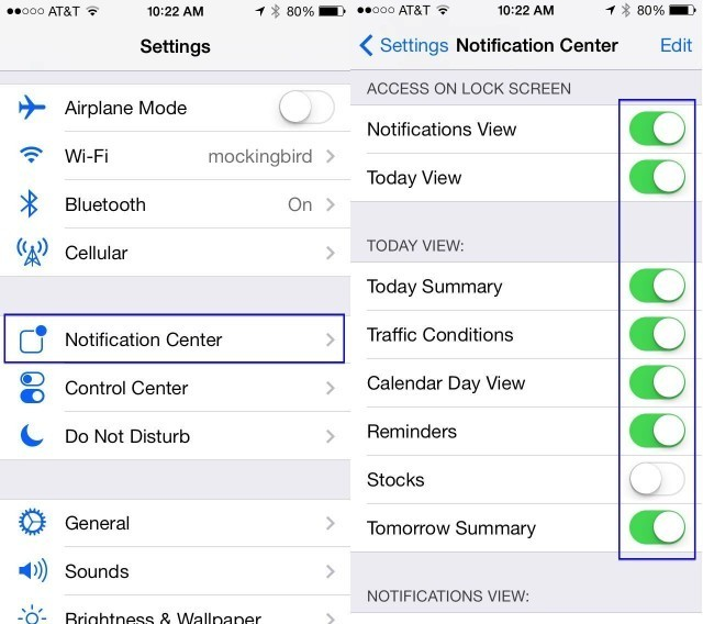Enable And Manage New iOS 7 Beta's 'Today' View On Your Lock Screen [iOS Tips]