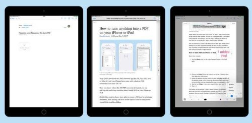 Use Apple Pencil to mark up PDFs in Mail app