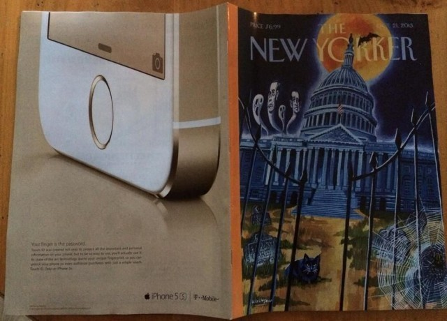 Apple Publishes First Print Ad For iPhone 5s In The New Yorker