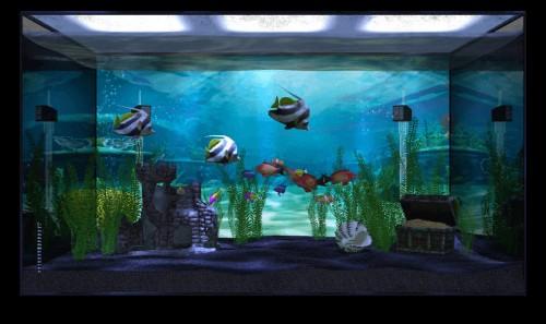 Aquarium app fills your Apple TV with A.I. fish