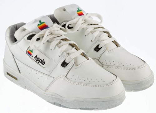 Geeky shoes salute rare Apple sneakers from the '90s