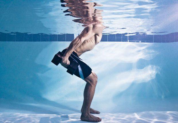 Swim Workout - Magazine cover