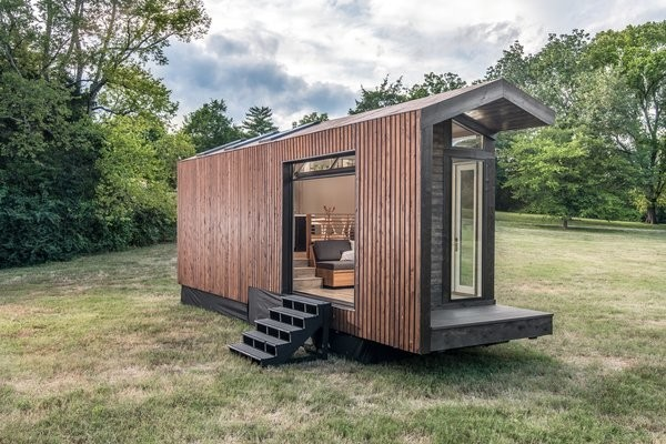 The Solar-Powered Orchid Tiny House Has a Gorgeous, Light-Filled Interior