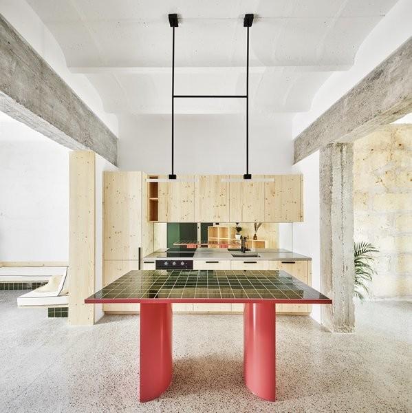 Before & After: A Former Motorcycle Shop Roars to Life as a Breezy Home on Mallorca