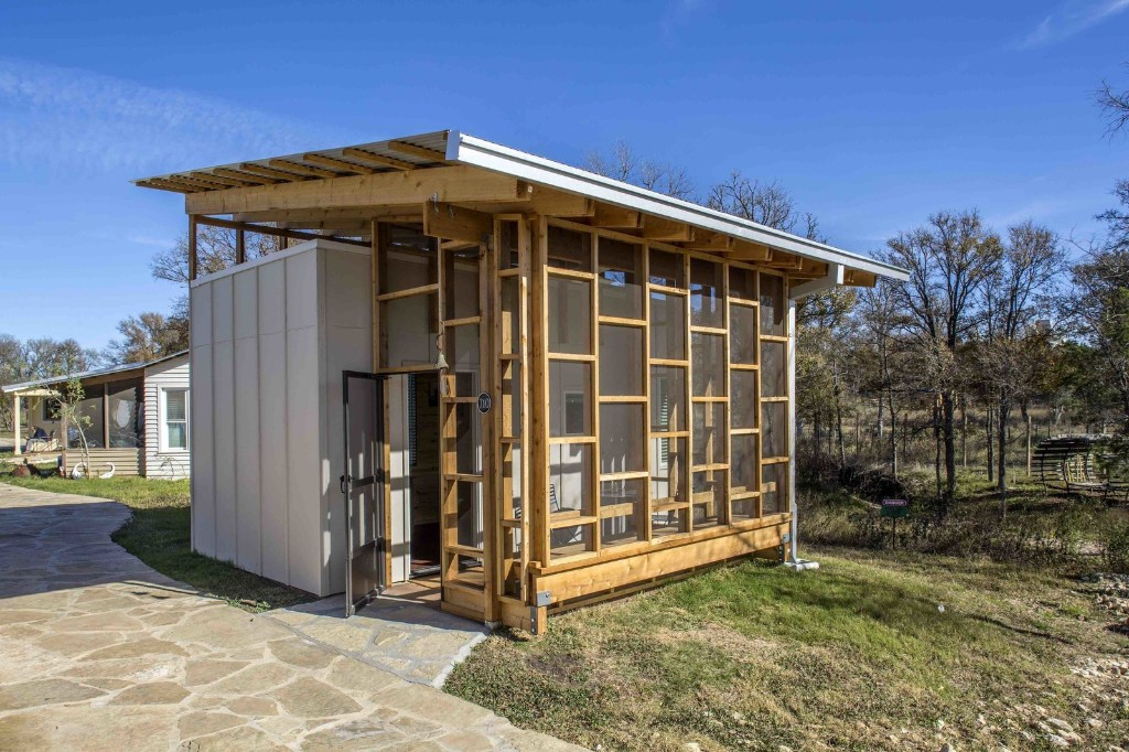 Austin Tackles Homelessness With Village of Sustainable Tiny Homes