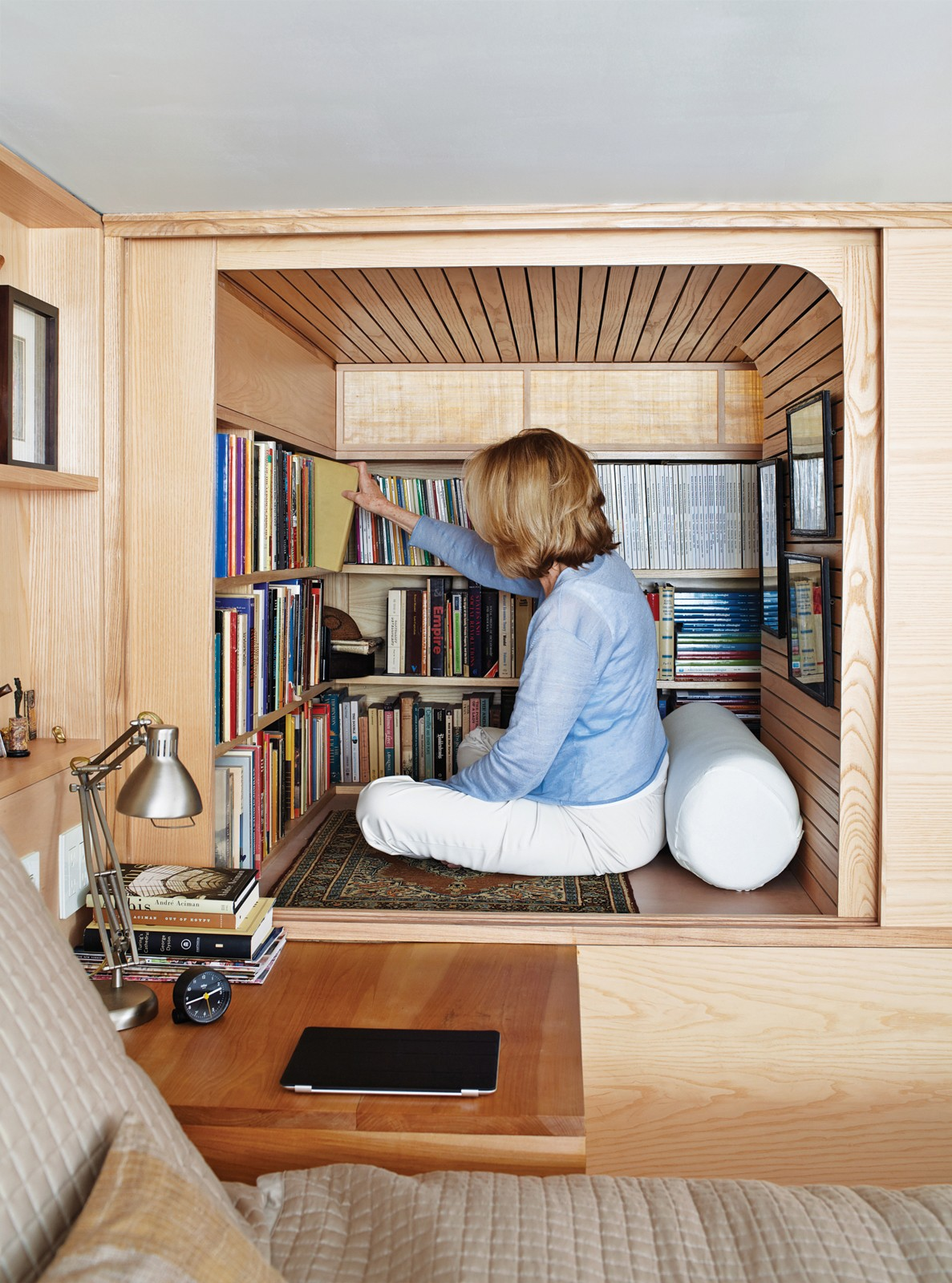 Articles about space saving wood paneled apartment manhattan on Dwell.com - Dwell