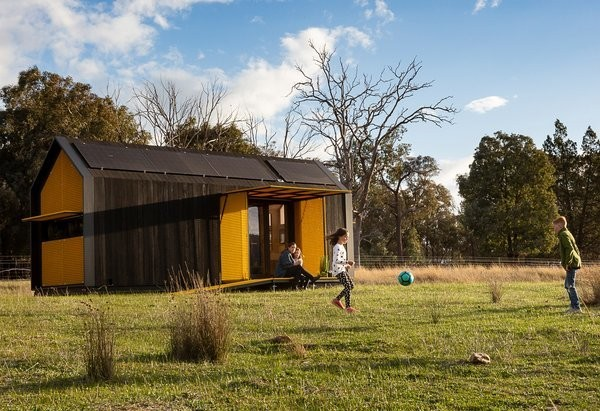 This Bold Tiny Home Blends The Best of Traditional and Contemporary Aesthetics