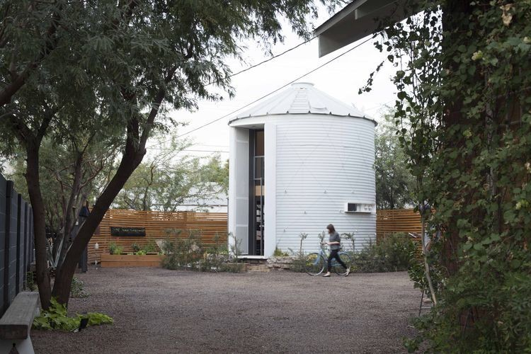 Articles about you wont believe cozy home inside converted grain silo on Dwell.com - Dwell