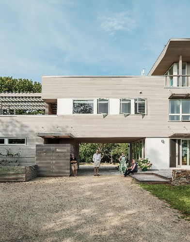 Articles about unconventional prefab fishers island on Dwell.com