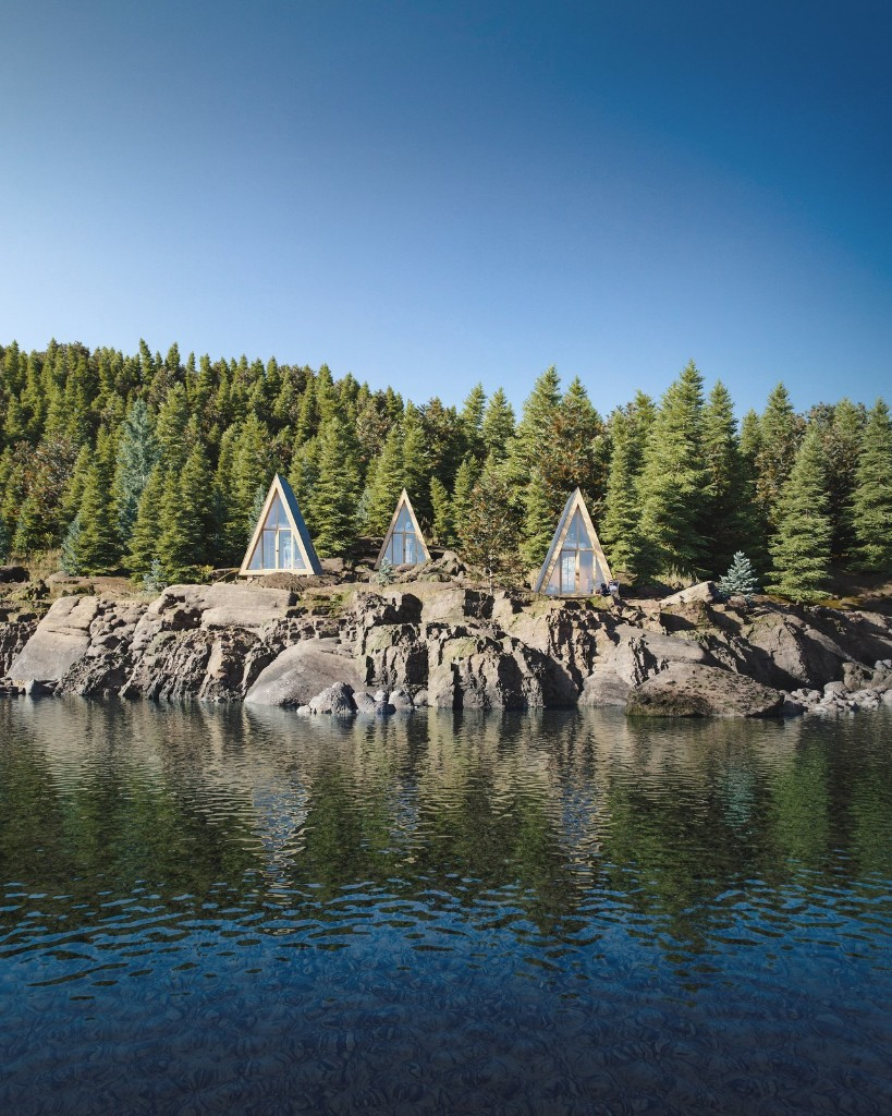 A DIY Cabin Brand Is Selling $99 A-Frame Plans
