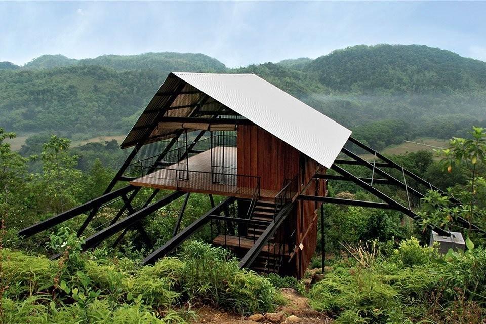 Surreal Tree House Plans - Modern Design Tree House Plans