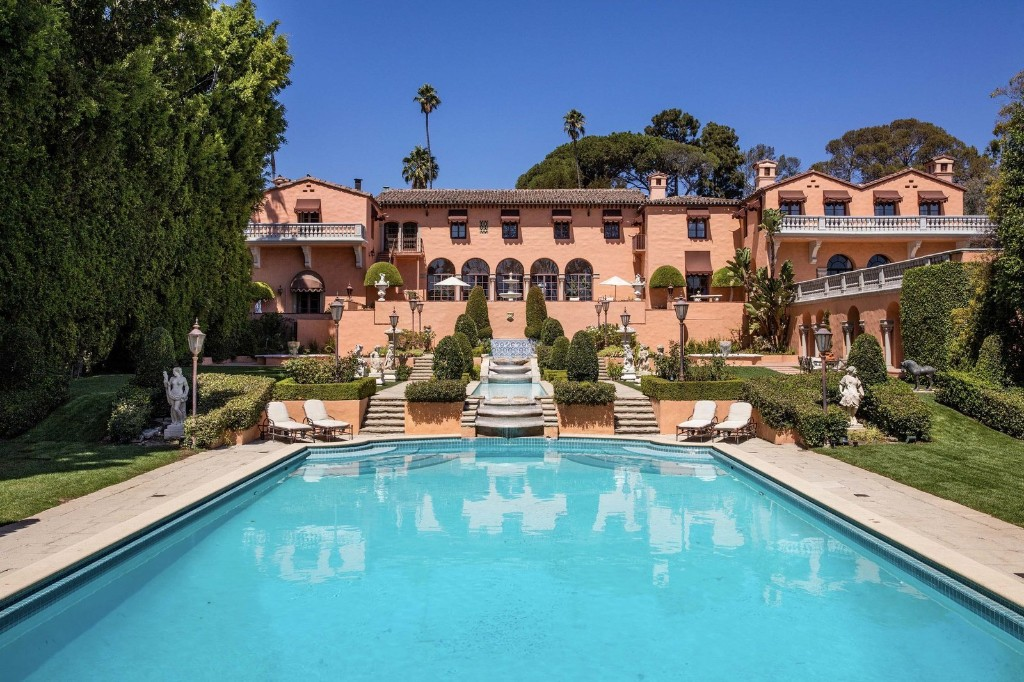 """The Opulent Beverly Hills Mansion From """"The Godfather"""" Hits the Market"""
