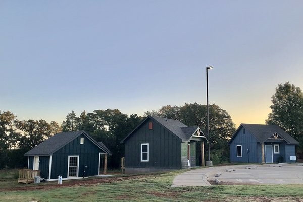 A Tiny Home Campus for Homeless Youth Opens in Oklahoma City