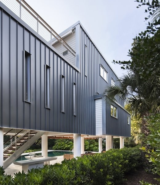 Summer-Ready Modern Pavilion in South Carolina