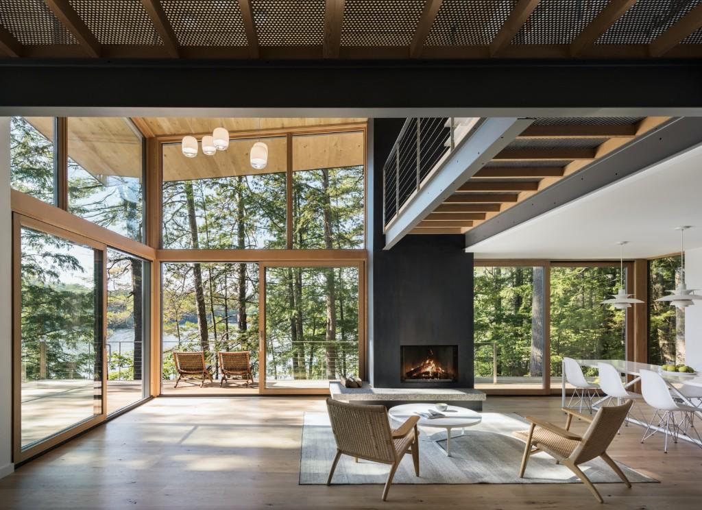 Modern Cabin by Murdough Design