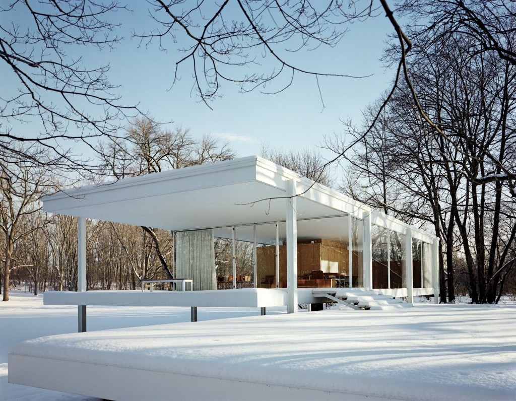 Buildings and Houses by Ludwig Mies van Der Rohe - Buildings and Structures by Iconic Modernist Chicago Architect