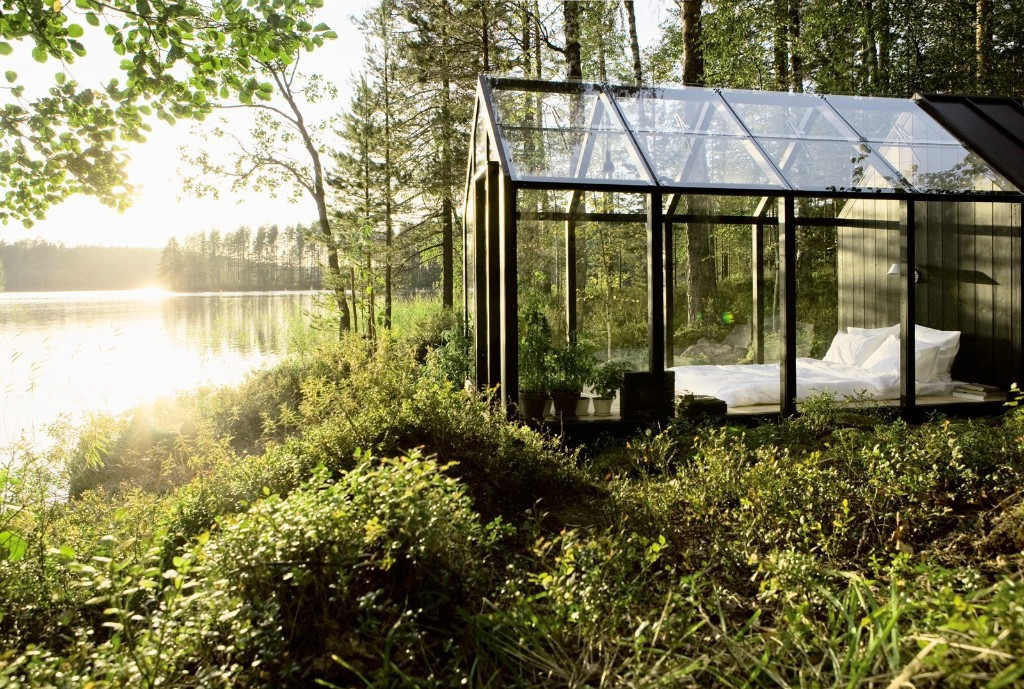 Prefab Summer Home by Linda Bergroth - This Prefab Garden Shed Kit Doubles as a Summer Home