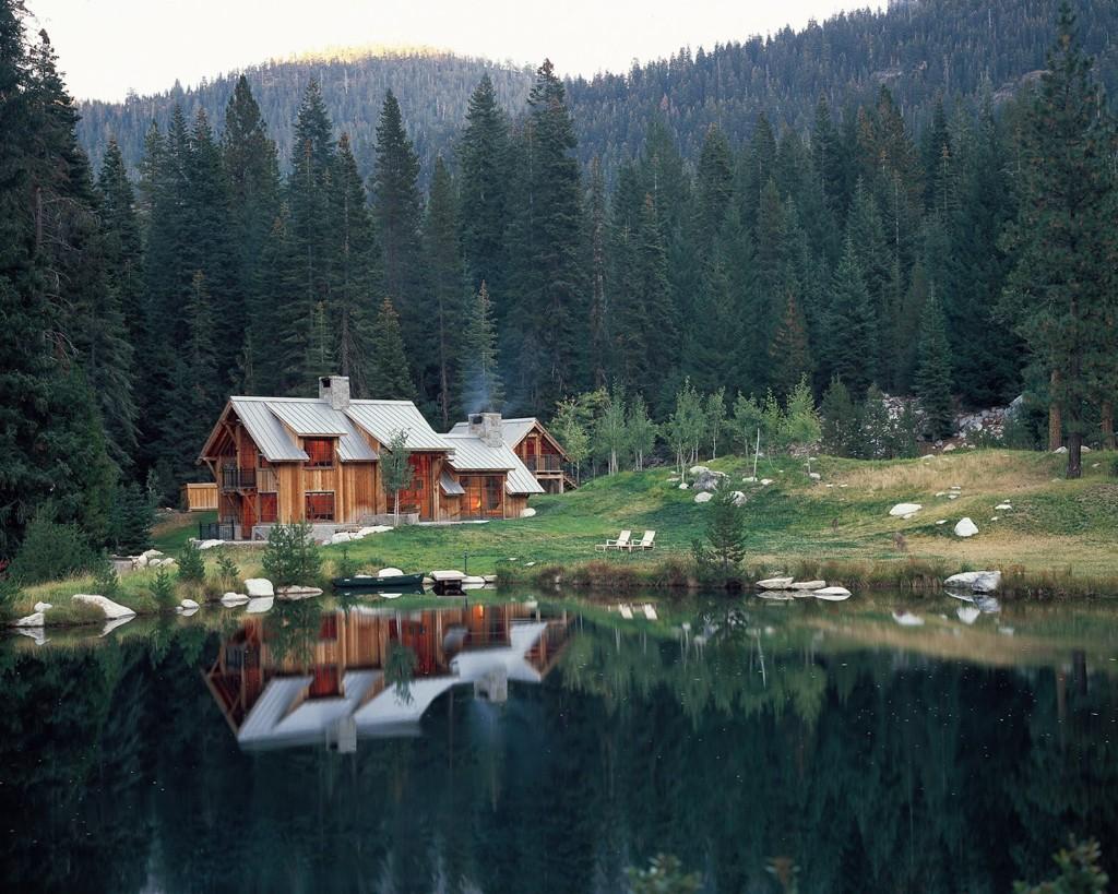 Wilderness Cabin by Walker Warner Architects