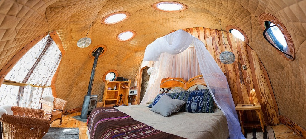 Soak Up the Magic of Patagonia at This Eco-Friendly Geodesic Dome Retreat