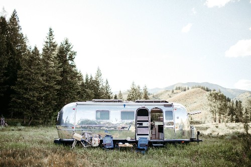 1971 Airstream Overland International Remodel by Traverse Design + Build