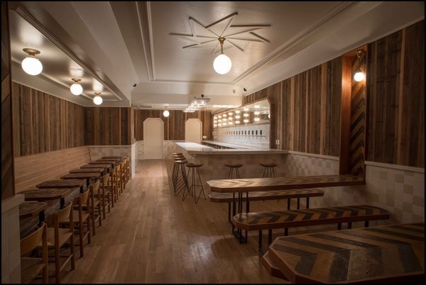Restaurants and Bars by Brooklyn Studio hOmE