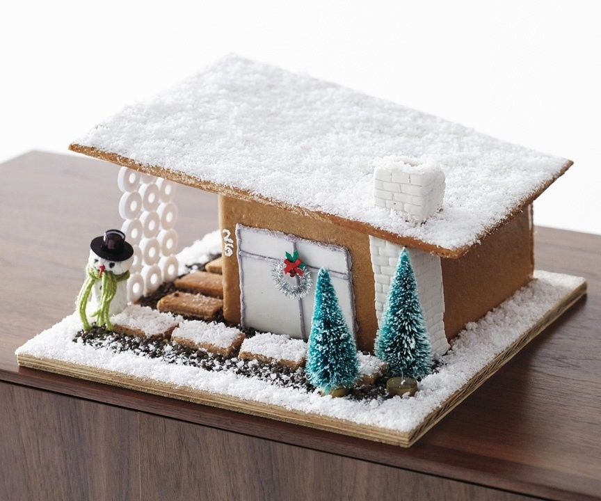14 Architectural Gingerbread Houses That Are Definitely Not Cookie-Cutter