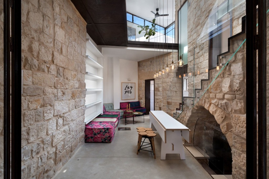 Articles about 250 year old stone house israel surprisingly modern interior on Dwell.com