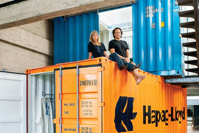 Container Homes - Magazine cover