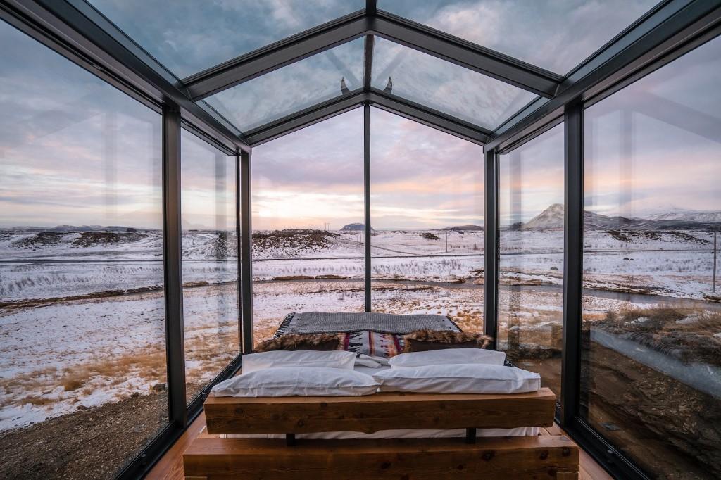 Panorama Glass Lodge Iceland by ÖÖD House