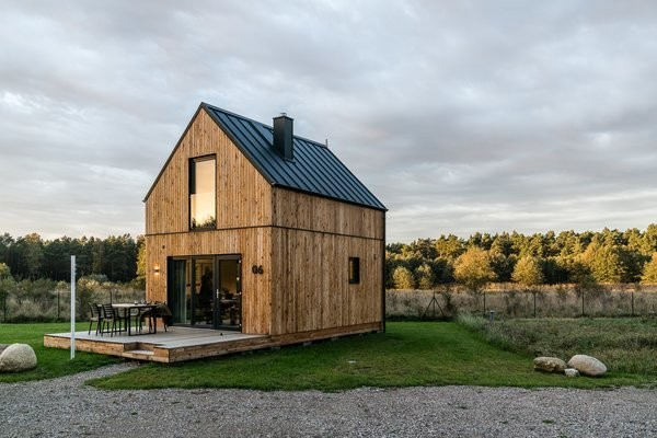 These Tiny Cabins in Poland Offer Creature Comforts in the Woods