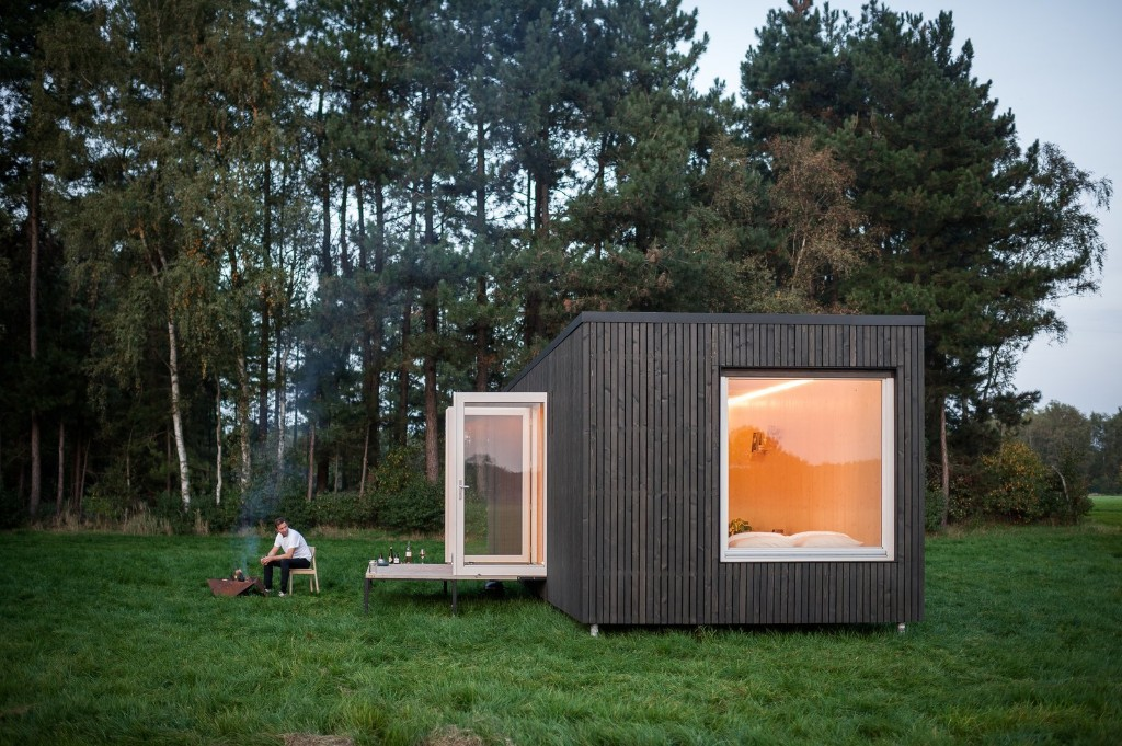 These Off-the-Grid Cabins in Belgium Keep Their Locations Secret Until You Book