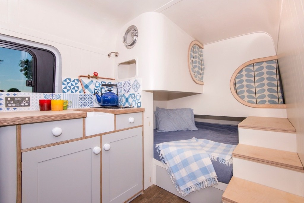 Budget Breakdown: A Mercedes-Benz Sprinter Van Turns Into a Chic Tiny Home For $27K