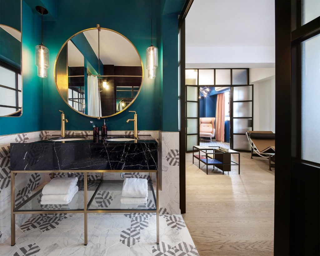 See How This Colorful Hong Kong Apartment Was Made to Feel Bigger Than it Actually Is