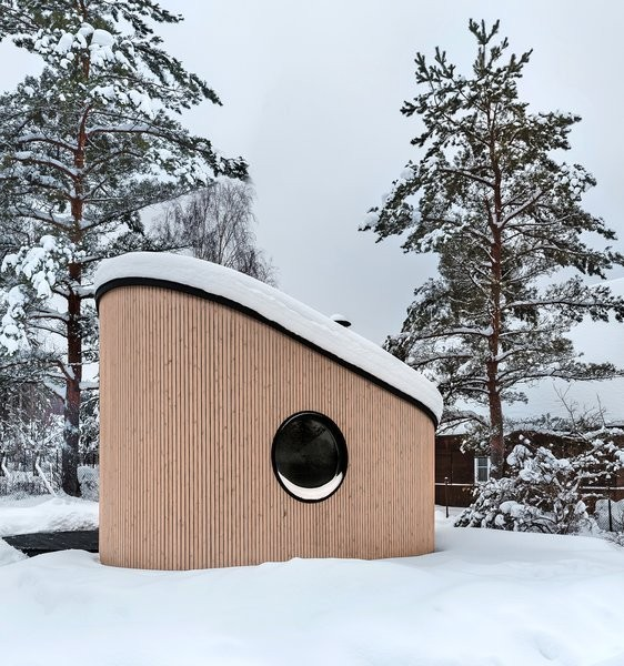 A Modern Tiny House Reinvents the Finnish Barbecue Hut