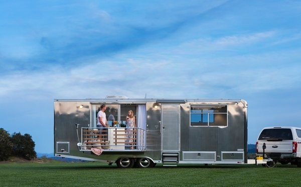 A Well-Traveled Couple Launch a Line of Sleek Homes on Wheels