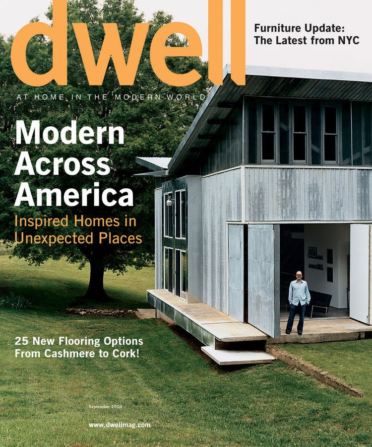 dwell - Magazine cover