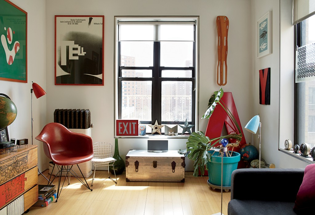 Articles about bright renovation tiny manhattan apartment on Dwell.com - Dwell