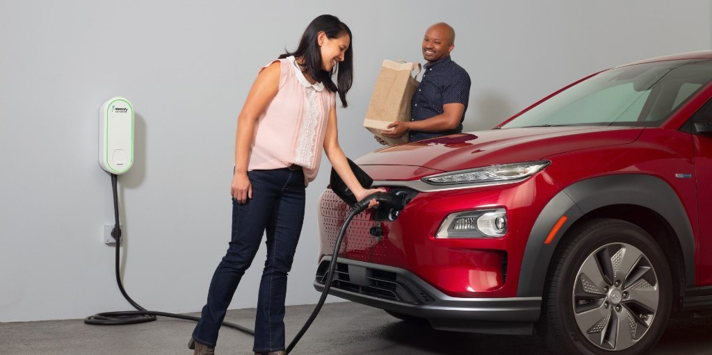 Electrify America launches $500 electric car home charger - Electrek