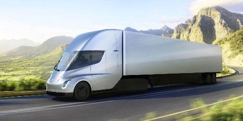 A Tesla Semi electric truck could save us 'tens of thousands of dollars a year', says DHL