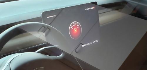 Tesla releases Dashcam Viewer software update, allows TeslaCam, Sentry Mode viewing in car - Electrek