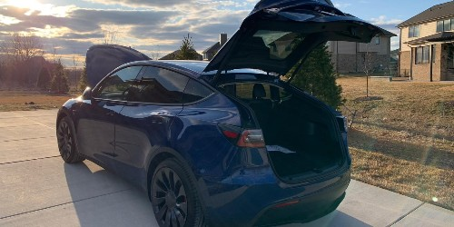 Tesla Model Y: Here's a firsthand account of contactless delivery - Electrek