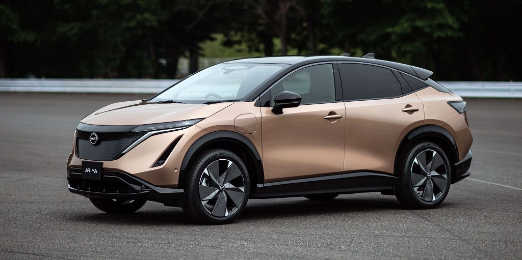 Nissan unveils $40,000, 300-mile Ariya electric SUV, with liquid-cooled battery - Electrek