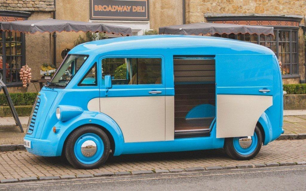 The beloved British Morris van returns as the reimagined electric JE - Electrek