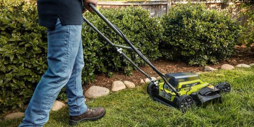 Ryobi's new electric lawn mower $80 off, more in today's Green Deals - Electrek