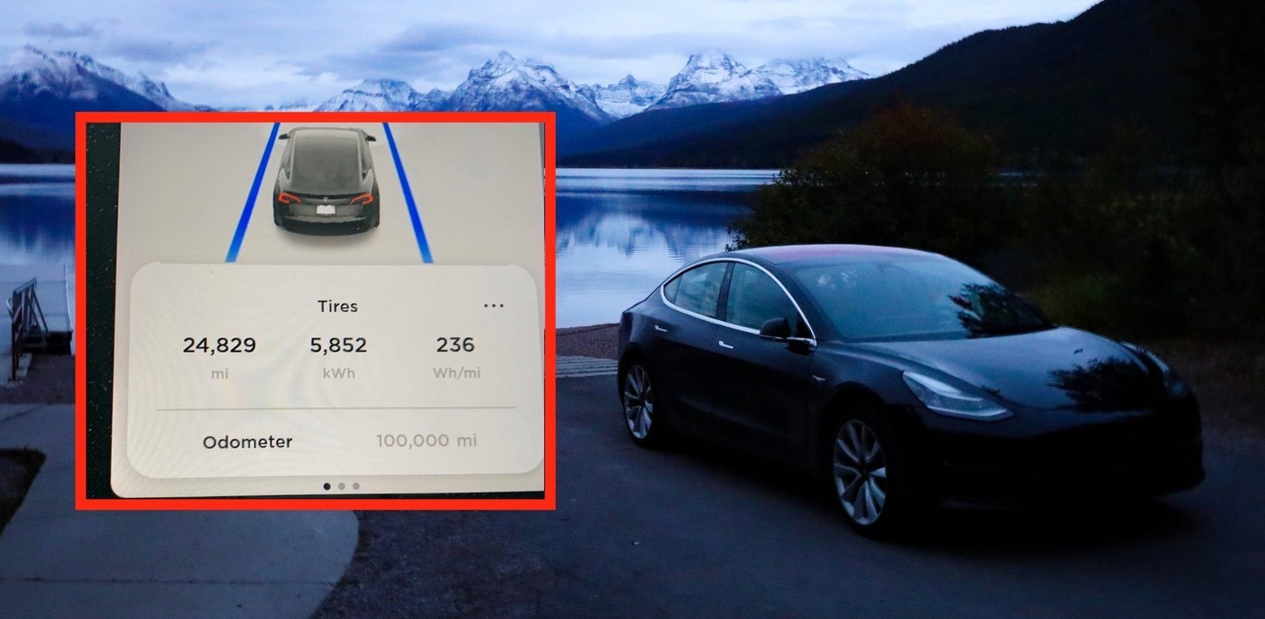 Tesla owner becomes first to push Model 3 to 100,000 miles, here's how it's doing - Electrek