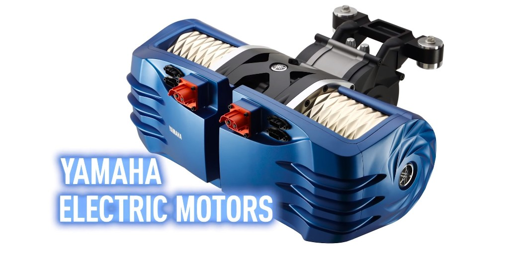 Yamaha unveils 'extremely compact' electric motors for e-motorcycles, cars