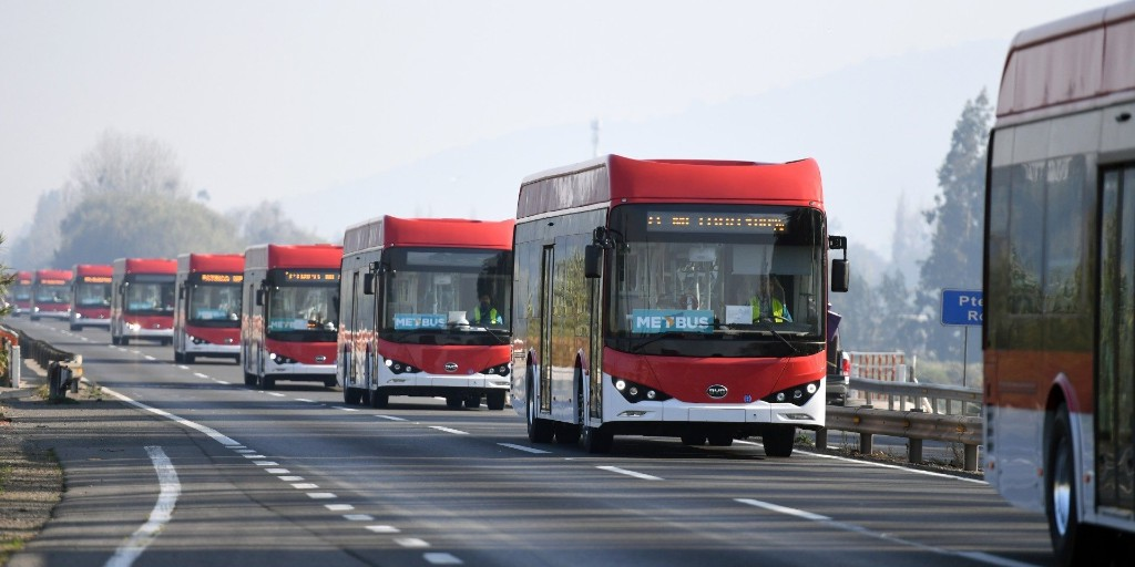 EGEB: E-bus trailblazer Chile orders 150 more for its capital - Electrek
